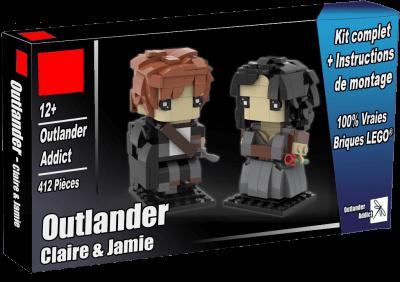 Acheter les figurines Outlander Jamie et Claire Fraser