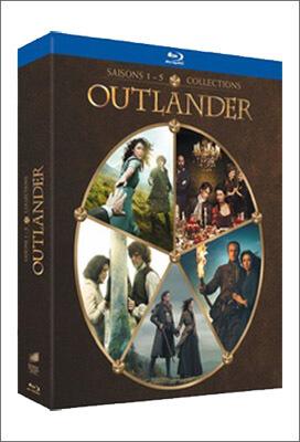 Outlander DVD et Bluray | Saison 1 à 5 | Outlander Addict