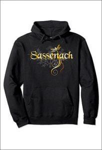 Sweat à Capuche Outlander - Sassenach