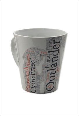 Mug Outlander, tasse avec motif Claire et Jamie Fraser
