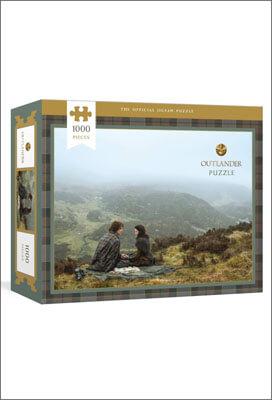 Puzzle Outlander, 1000 pieces, avec Claire et Jamie Fraser