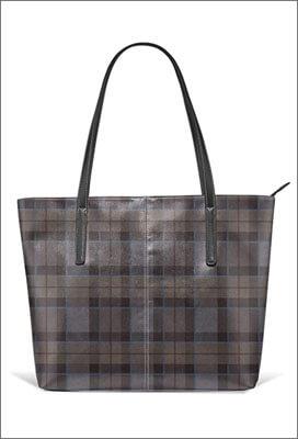 Sac a bandoulière - tote bag - motif Outlander Tartan Fraser
