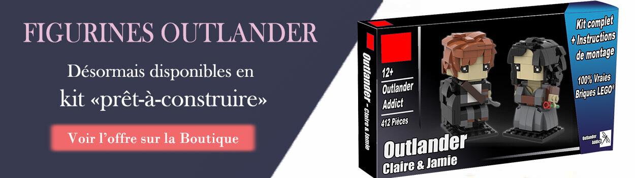 Figurines Outlander - Jamie et Claire - kit prêt à construire