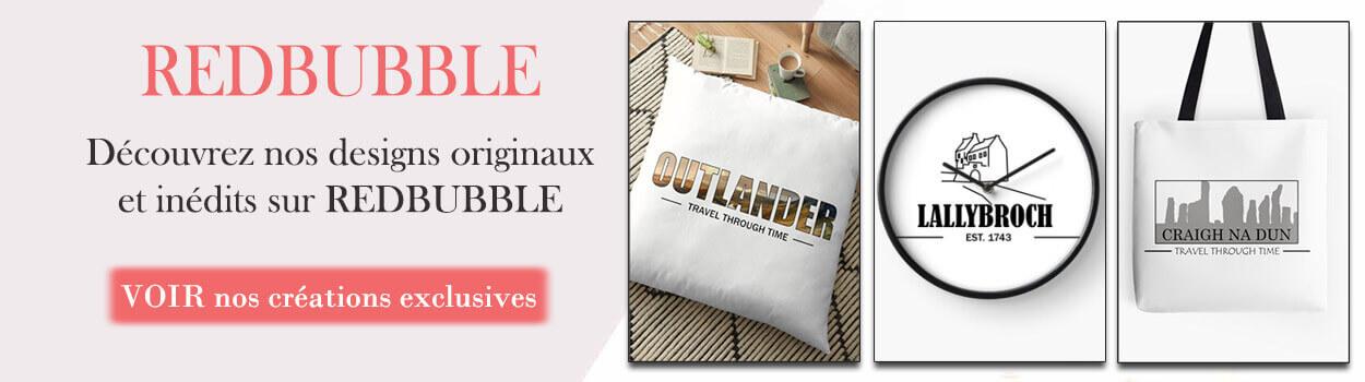 Outlander Addict sur Red Bubble - Mugs, T-shirts, Horloges, Coussins