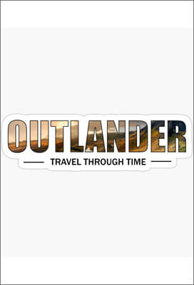 Sticker-Outlander-Travel-Through-Time