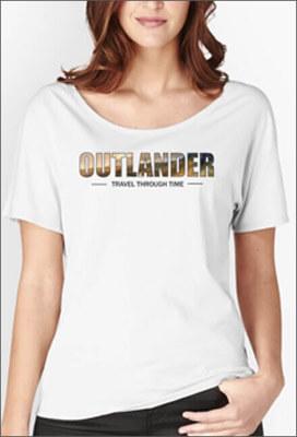 Tee-shirt-Outlander-Travel-Through-Time